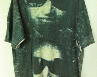 Vintage U2 ZOO TV Tour Mens Cotton T-shirt Sz XL Used Condition
