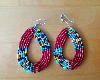 Maasai Beaded Earrings