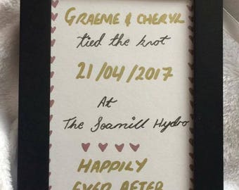 Wedding Day Print (Happily Ever After)