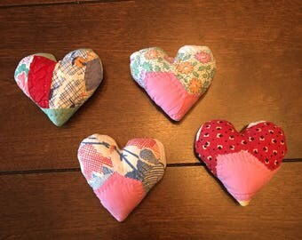 Quilted Heart Posing Pillow/Posing Pillow/Posing Heart Stuffie