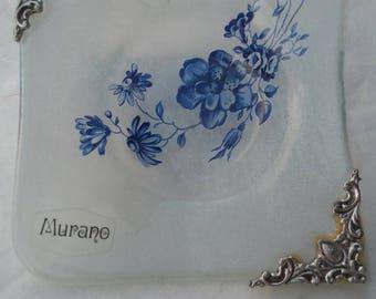 Vintage Murano Glass Saucer