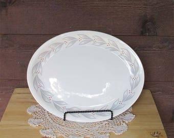 Vintage China Homer Laughlin Meat Serving Platter