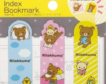 San-x Rilakkuma Magnet Index Bookmark