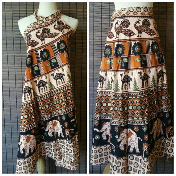 Elegant Bohemian wrap skirt, Ethnic Skirt, Beach wrap skirt, Indian Skirt, Hippie Wrap Skirt, Boho Skirt, Beach Coverup, Summer dress