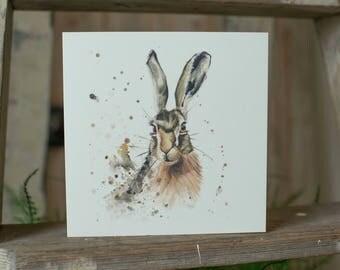 Hazel Hare Card