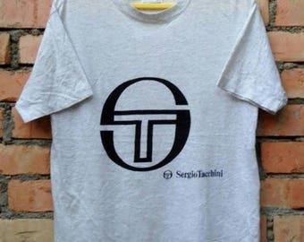 OFF 15% Rare!!! Sergio Tacchini Shirt Medium Size