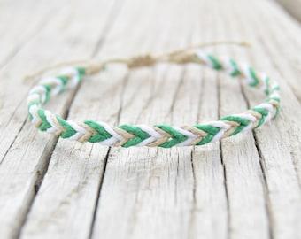 Hemp bracelets mens bracelets friendship bracelets braided bracelets hemp jewelry raw hemp cord vegan gifts jewelry