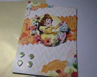 Child 692 handmade 3D card
