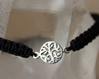 shamballa bracelet with tree of life connector