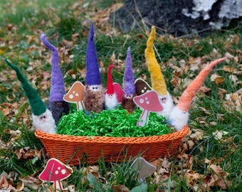Custom Felted Gnomes 20-30cm