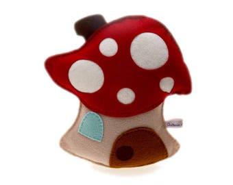 Mushroom House - No. 225 pattern