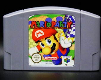 Mario Party - Nintendo 64 - Tested and Working - N64