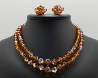 LAGUNA Iridescent Crystal Set
