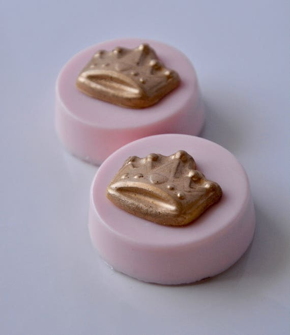 Pink And Gold Chocolate Baby Shower Favor Princess Handmade