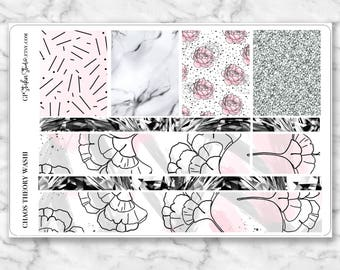 CHAOS THEORY Washi sheet Stickers for your Erin Condren, Happy Planner, Kikki K and Filofax