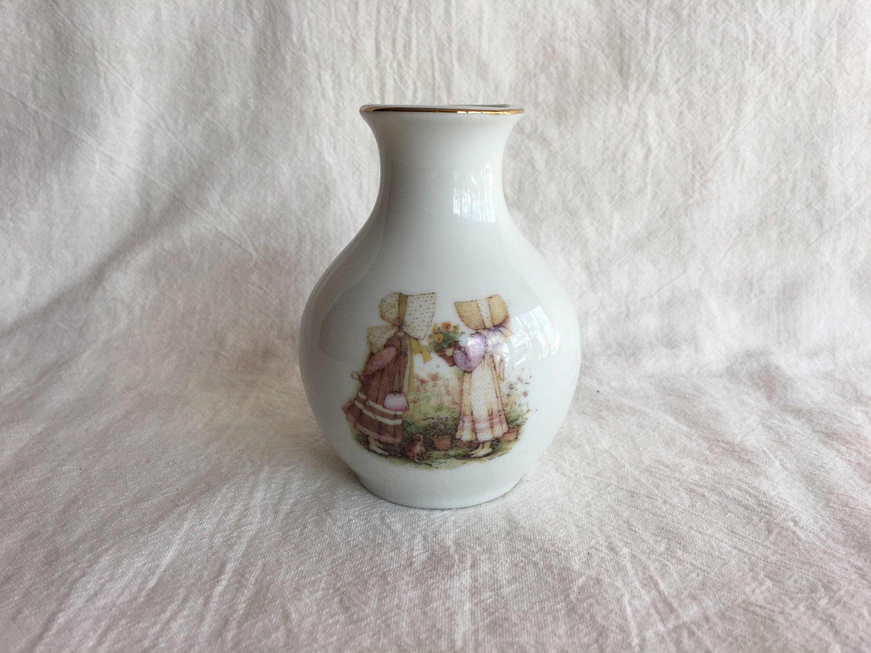1981 holly hobbie bud vase vintage decor reviewsmspy