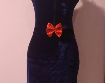 VALERIE VINTAGE DRESS Pencil dress blue 50's pinup