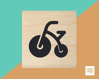 Tricycle - 1.5cm Rubber Stamp (DODRS0227)