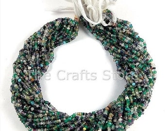 FLAT 50% OFF Multi Cubic Zircon Beads 3mm - 4mm Multi Cubic Zirconia Faceted Beads Stone Facet Rondelles 13 inch Strands