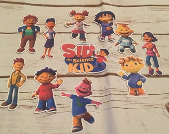 Sid the Science Kid  Die Cuts/Birthday Party Decor/Scrapbook
