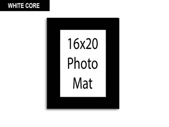 Multiple Colors Any Opening Size 16x20 Photo Mat