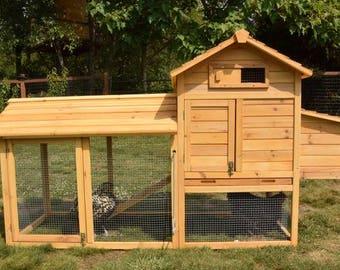Cabin Chicken Coop 2-4 Hens