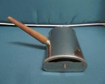 Vintage Metal Table Sweeper / Table Butler / Crumb Brush