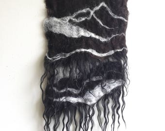 Small Felted Wool Wall hanging