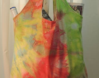 Ice Dyed Market Tote