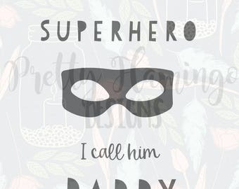 Father's Day SVG, Dad SVG file, cricut cutting file, father's day cutting file, superhero cutting file, superhero dad svg