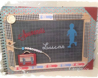 school or nursery 18 photo album personalized pages