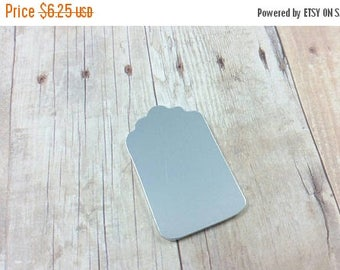 ON SALE Luggage tag blank, aluminum tag blank, aluminum Stamping blanks, stampable luggage tag, hand stamping supplies, aluminum tags, tag b