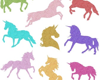 Unicorn silhouette | Etsy