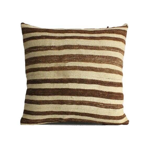 Kilim Pillow 24x24 Kilim pillow cover floor cushion throw