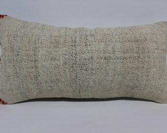 12x24 handwoven kilim pillow decorative kilim pillow 12x24 cushion cover vintage kilim pillow boho decor throw pillow sofa pillowSP3060-1626
