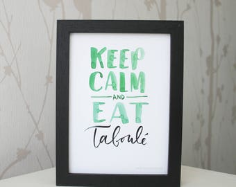 Keep calm and eat • Tabbouleh