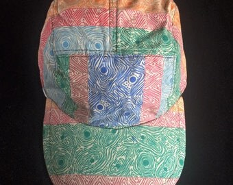 Abstract Stripes Five Panel