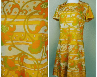Clearance *** Funky Vintage Mod Mini Dress