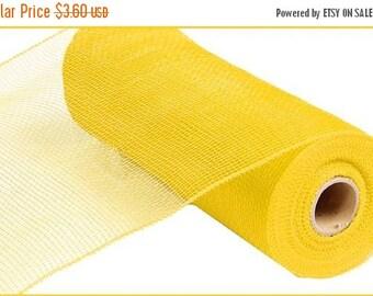 "SALE 10"" x 10yards - Yellow Deco Mesh, Deco Mesh, yellow mesh, yellow Mesh roll, yellow deco mesh roll, deco mesh, mesh, yellow mesh"