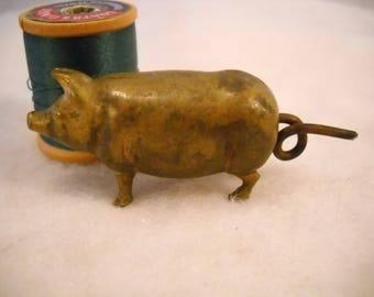 Vintage Piglet Sewing Tape Measure