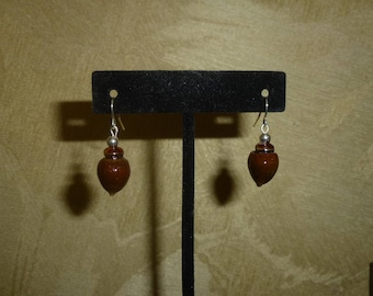 Acorn Earrings #208