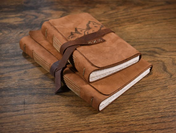 The Wanderer Leather Journal - Mountains