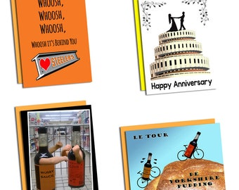 Sheffield themed greetings cards Choose from 27 designs