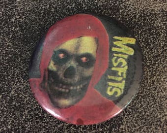 Vintage Crimson Ghost MISFITS pin