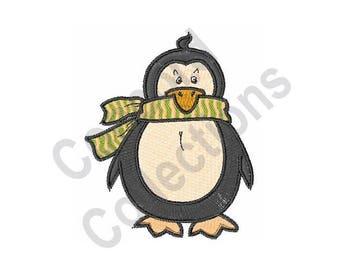 Penguin - Machine Embroidery Design