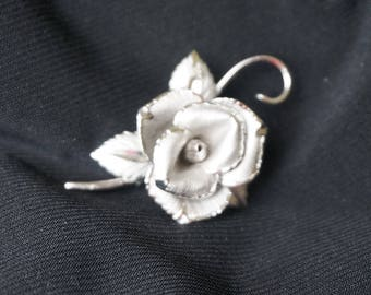 Vintage, Sterling, BOND BOYD, Beautiful Brooch, Rose.