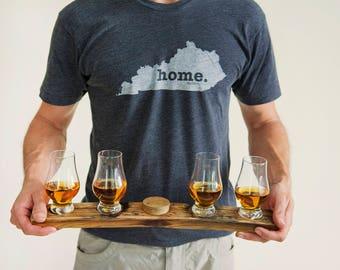 Personalized Bourbon Whiskey Flight w/ Bung