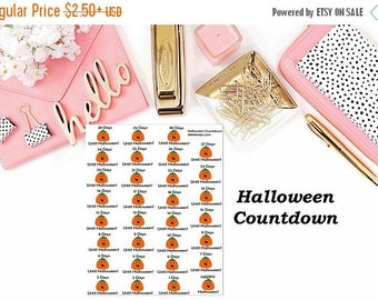 40% Off Sale Halloween Countdown