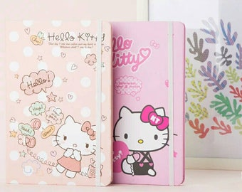 NEW Authorised By Sanrio Hello Kitty Pink Kawaii Style Planner -  pink or peach