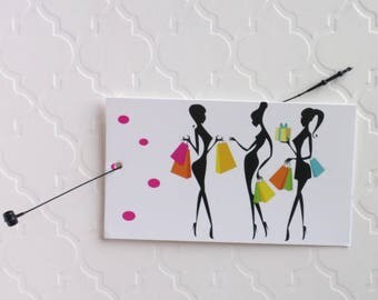 100 PRICE TAGS HANG Tags Retail Tags Boutique Tags Cute Fashion Girls Merchandise Tags Clothing Tags With 100 Plastic Loops